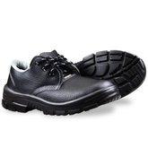 Sapato de Amarrar Premium Preto com Bico em PVC N° 44 - KADESH-43203-44