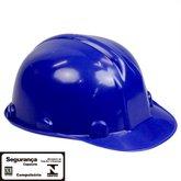 Capacete de Segurança Azul com Aba Frontal sem Carneira - VONDER-7090130000