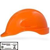 Capacete de Segurança Laranja Escuro Turtle sem Suporte - STEELFLEX-STF-CPTC10320