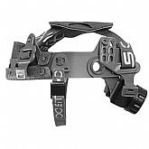 Suspensão Tipo Catraca STEEL-LOCK com Jugular para Capacetes de Segurança - STEELFLEX-STF-CPTA66000