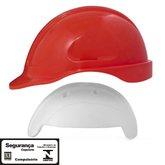 Capacete de Segurança Vermelho Turtle com Absorvedor de Impacto - STEELFLEX-STF-CPTC12700