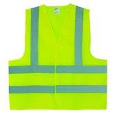 Colete Refletivo Jaqueta Amarelo Fluorescente M - PROTEPLUS-2850005