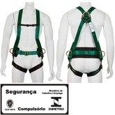 Cinturão de Segurança tipo Paraquedista Contra Quedas - CARBOGRAFITE-CG730E