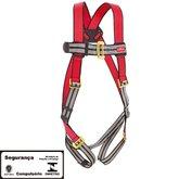 Cinto de Segurança tipo Paraquedista com 1 Ponto de Ancoragem - STEELFLEX-STF-CQCT1111