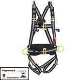 Cinto de Segurança tipo Paraquedista Antichamas com 4 Pontos de Ancoragem - STEELFLEX-STF-CQCT4321