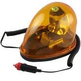 Luz de Emergência Giroflex Amarela 12v Oval - LEETOOLS-689502
