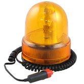 Luz de Emergência Giroflex Amarela 12V - WESTERN-LN-0