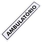 Placa Sinalizadora para Ambulatório - ENCARTALE-PS-216