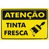Placa Sinalizadora Atenção Tinta Fresca  - ENCARTALE-PS515
