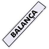 Placa Sinalizadora para Balança - ENCARTALE-PS-220