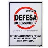 Placa Sinalizadora Código de Defesa do Consumidor - ENCARTALE-PS644