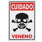 Placa Sinalizadora Cuidado Veneno - ENCARTALE-PS86
