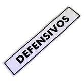 Placa Sinalizadora para Defensivos - ENCARTALE-PS-188