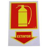 Placa Sinalizadora Extintor  - ENCARTALE-PS19