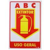 Placa Sinalizadora para Extintor Uso Geral - ENCARTALE-PS-480