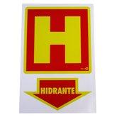 Placa Sinalizadora Hidrante - ENCARTALE-PS16