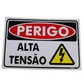Placa Sinalizadora Perigo Alta Tensão  - ENCARTALE-PS80