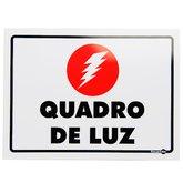 Placa Sinalizadora para Quadro de Luz - ENCARTALE-PS-96