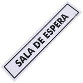 Placa Sinalizadora para Sala de Espera - ENCARTALE-PS-206
