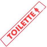 Placa Sinalizadora para Toilette Feminino - ENCARTALE-PS-109