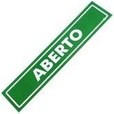 Placa Sinalizadora Aberto / Fechado - ENCARTALE-PS-506FV