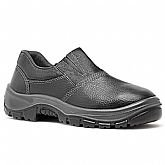 Sapato de Segurança Preto HLS em Microfibra com Elástico Nº 39 - FUJIWARA-4090HLSM4600LG39