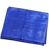 Lona Polietileno Reforçada 5 x 3 Metros Azul 200 Micras - BELTOOLS-60331