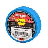 Fita Isolante Imperial Azul 18mm x 10m - 3M-HB004297980