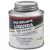 Fita Isolante Liquida Cor Preta - 200ml - QUIMATIC-BD1
