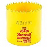Serra Copo Bi-Metal Fast Cut 45 mm - STARRETT-FCH045M-G