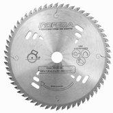 Disco de Serra Circular HW 185mm 60 Dentes para Máquina Portátil  - INDFEMA-8518/06