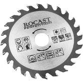 Disco de Serra Circular para Madeira 4.3/8 (110 mm) - ROCAST-SERRA4.3/8(110x20mm)Z24
