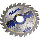 Disco de Serra Circular para Máquinas Portáteis 4.3/8 24D 20mm - IRWIN-014104