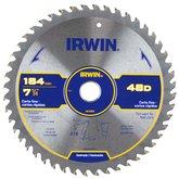 Disco de Serra Circular para Máquinas Portáteis 7.1/4 Pol. 48D 20 mm - IRWIN-IW14109