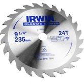 Disco de Serra Circular para Máquinas Portáteis 9.1/4 Pol. 24D 25mm - IRWIN-014111
