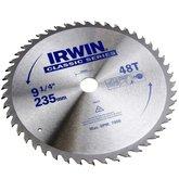 Disco de Serra Circular para Máquinas Portáteis 9.1/4 Pol. 48D 25 mm - IRWIN-014113