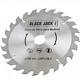 Disco de Videa para Madeira 180 x 22,3 mm - 24 Dentes - BLACK JACK-J380