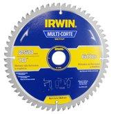 Disco de Serra Circular Multicorte 60 Dentes 10 Pol. - IRWIN-15198