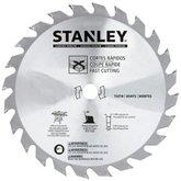 Disco de Serra para Corte Fino 7.1/4 Pol. para Madeira - 18 Dentes - STANLEY-STA7717