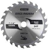 Disco de Serra Circular de 7-1/4 Pol. para Madeira - 24 Dentes - UYUSTOOLS-DMD724