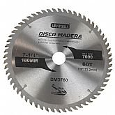 Disco de Serra Circular de 7.1/4 Pol. para Madeira - 60 Dentes - UYUSTOOLS-DMD760