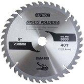 Disco de Serra Circular de 9 Pol. para Madeira - 40 Dentes - UYUSTOOLS-DMA409