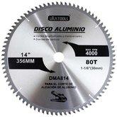 Disco de Serra para Cortar Alumínio 80 Dentes de 14 Pol. - UYUSTOOLS-DMA814