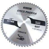 Disco de Serra Circular de 18 Pol. para Madeira - 60 Dentes - UYUSTOOLS-DMA618