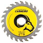 Disco de Serra Circular de Wídea 110mm para Madeira - 24 Dentes - CARNEIRO-40201001