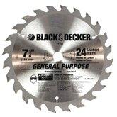 Disco de Serra Circular de Wídea 24D 7-1/4 Pol.  - BLACKDECKER-71-727