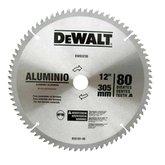Disco de Serra Circular de 12 Pol. para Alumínio/Madeira - 80 Dentes - DEWALT-DW03230