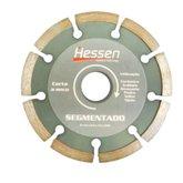 Disco Diamantado Segmentado de 110mm para Concreto - HESSEN-19597