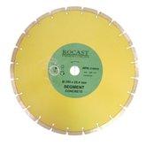 Disco Diamantado Segmentado de 350mm para Concreto - ROCAST-340006