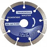 Disco Diamantado Segmentado 110 x 20mm - TRAMONTINA-42595104